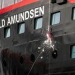 Galería: El bautizo de MS Roald Amundsen en la Antártida