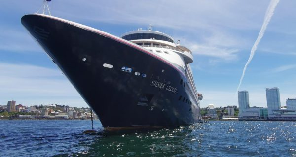 Silver Cloud recala a Puerto Montt - https://portalcruceros.cl