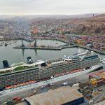 Galería: Así recibe Arica su crucero más grande de la historia