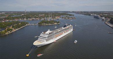Puertos de Estocolmo atenderán cerca de 290 cruceros en 2020