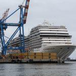 Galería: MSC Magnifica arriba por primera vez a Valparaíso