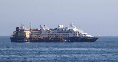 Tripulante del Silver Explorer desembarca en Valparaíso en grave estado de salud