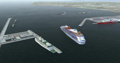 Siport21 analiza viabilidad náutica de ampliación del muelle de cruceros del Puerto de Tarragona
