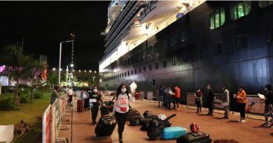 México realiza dos puentes humanitarios en apoyo de 260 tripulantes de cruceros