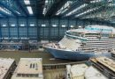 Meyer Werft muestra avance en construcción del Odyssey of the Seas