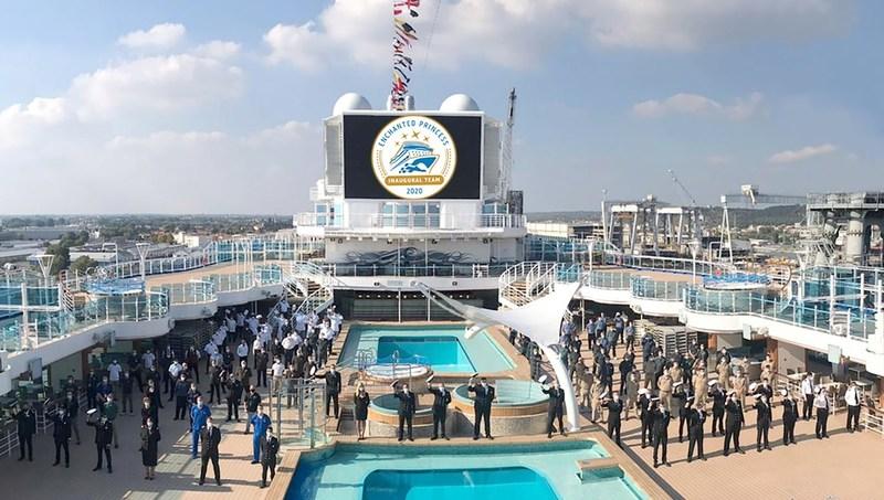 Enchanted Princess se une oficialmente a flota de Princess Cruises