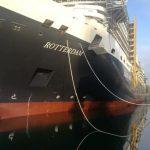 Galería: Nuevo crucero de Holland America Line flota por primera vez