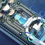 Pacific Encounter de P&O Cruises Australia completa su renovación en Singapur