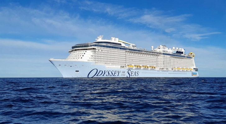 Royal Caribbean cancela salida de Odyssey of the Seas desde Israel