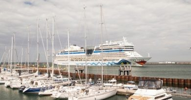 AIDAsol es invitado estelar del Hanse Sail 2021 en el Puerto de Rostock